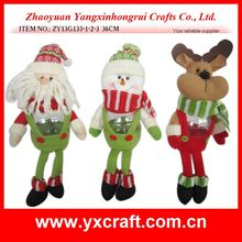 Christmas candy jar (ZY13G133-1-2-3 36CM) wholesale christmas decoration christmas kitchen jar