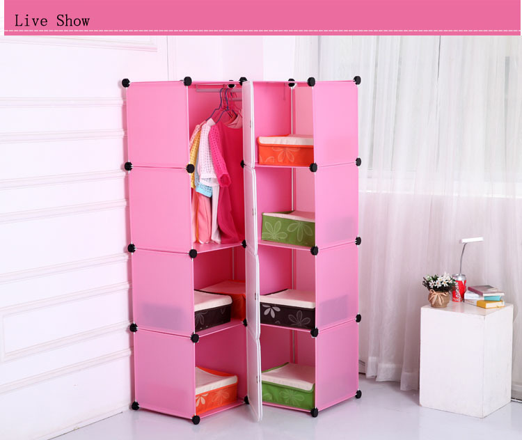 Superbe Commercial Office Furniture Pink Plastic Space Saving File Cabinet