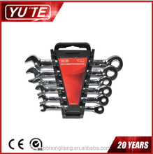 YUTE factory combination ratchet wrench&adjustable wrench&super ratchet wrench
