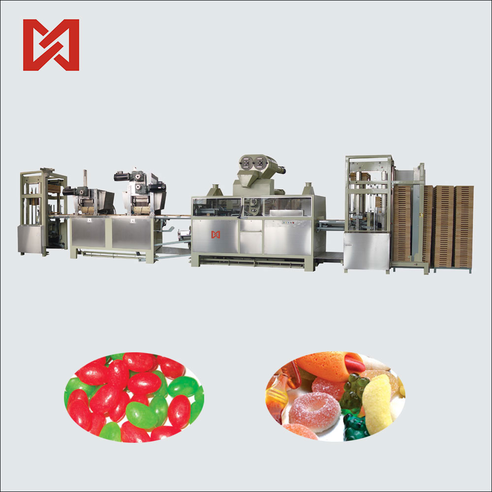 Chinese supplier cheap price small jelly candy making machine