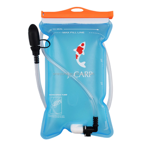 70oz Water Reservoir, FDA Approved, BPA free, TPU material, Ocean Blue, 2 liter, Best for Hiking, Cycling, Running, Camping etc.