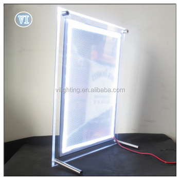Factory!crystal Led Signs Light Box Advertising Photography Lighted ...