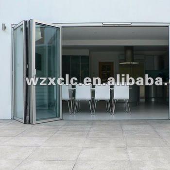 Factory Aluminium Sliding Folding Doors For Patio - Buy Fold Patio ...