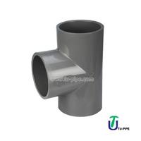 Industrial CPVC plastic Tees DIN/CPVC Pipe fittings