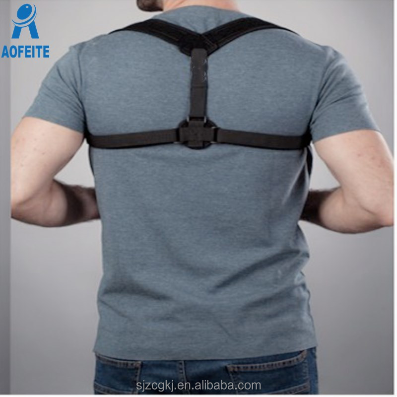 One size fit Adjustable Clavicle Brace Back Posture Corrector for Pain Relief <strong>Shoulders</strong>