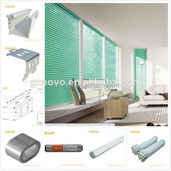 NOVO Office Curtains And Blinds / Roller Blinds Tubular Motor / Motorized  Roller Blind.remote