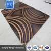 carving mdf grill boards Wall decoration 3D wave mdf board/3d wall panel