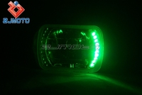 "Led 7"" Halo Angel Eye Turn Signal Light Bulb Led Halogen H4 Bulb ..."