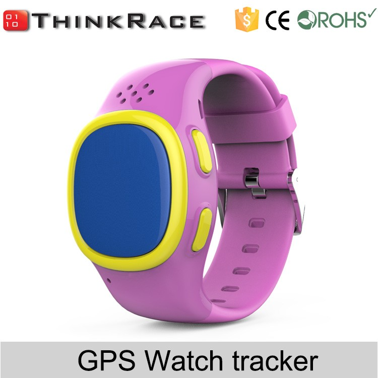 kids gps watch phone with pedometer and google play Thinkrace PT520
