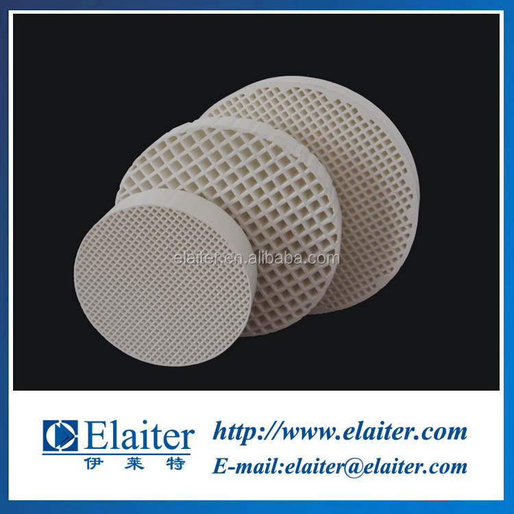 Porous industrial cordierite mullite honeycomb ceramic strainer filter made in china for casting foundry