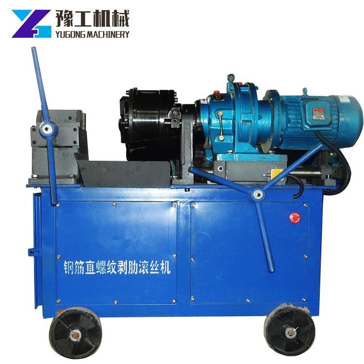 factory direct supply automatic rebar thread rolling machine for construction