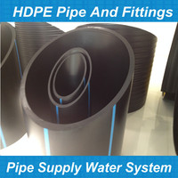 sewer polyethylene pipes/1050 mm hdpe plastic/50mm hdpe pipe pn 10