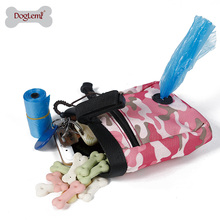 Camuflage Design Pet Treat Tote Outdoor Dog Treat Pouch for training dog