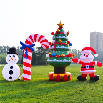 custom christmas cartoonlarge funny inflatable outdoor christmas decorationschristmas inflatable for yard decoration