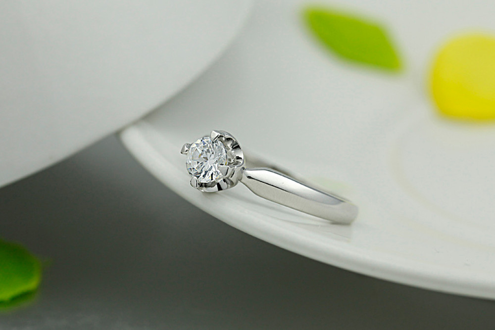 Wholesale Jewelry white women gift 925 Sterling Silver Ring