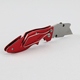 Razor Blade Box Cutter Folding Pocket Utility Knife Sharp Edge