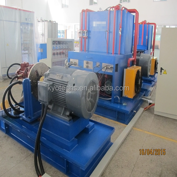 TEST SYSTEM FOR KPM SERIES HYDRAULIC PUMP