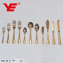 LOW MOQ stainless steel bulk cutlery