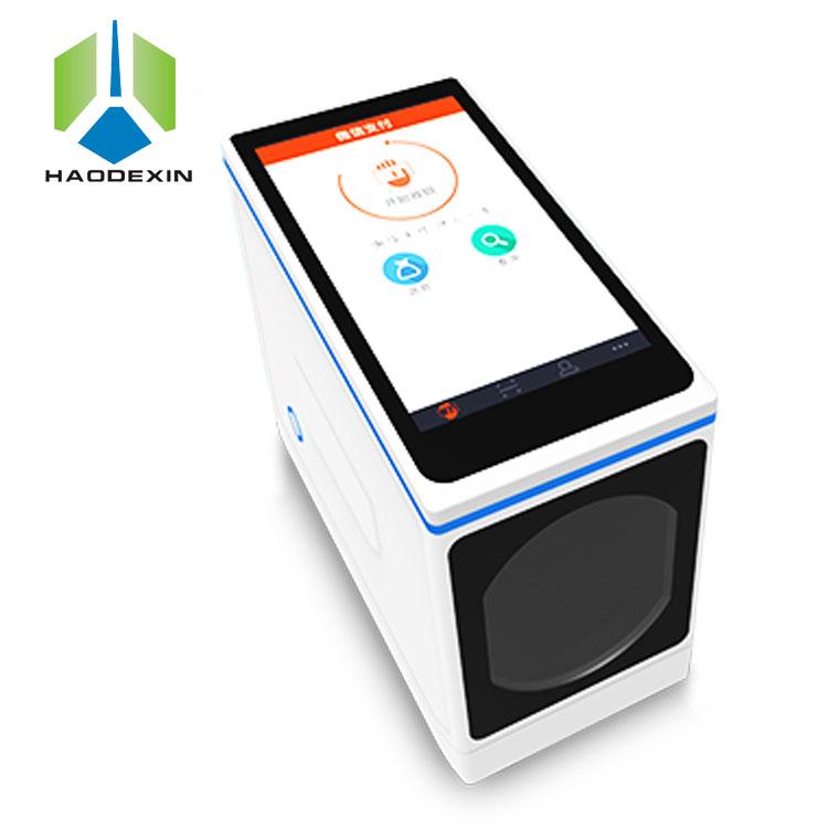 5 インチのタッチスクリーンハンドヘルド pos 端末バーコードスキャナとプリンタエージェント bulit イン NFC オールインワン MPOS GC088 qr 支払