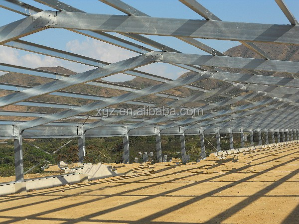professional design modern automatic steel structure chicken farm