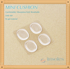 pu gel Mini spot cushion /4ps free foot post gel pad