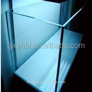 tempered safety glass price for glass to make Garra Rufa fish pedicure tanks