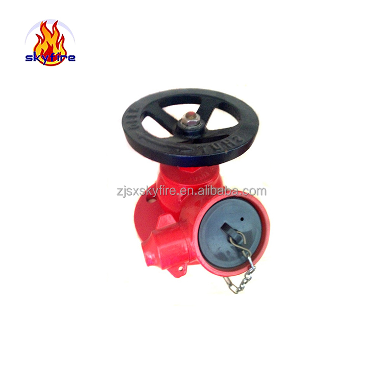 Fire extinguisher parts brass pressure reducing valve fire hydrant landing valve