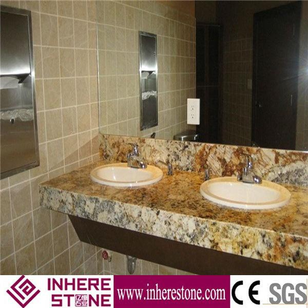 Golden Persa Granite Bathroom Countertop Buy Kitchen Countertop Product On  Alibabacom