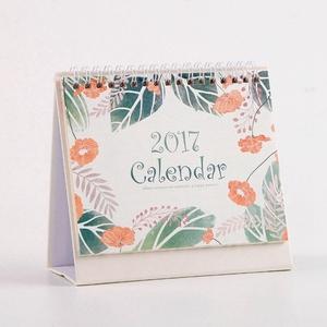New Custom Spiral Binding Table Calendar Planner Design