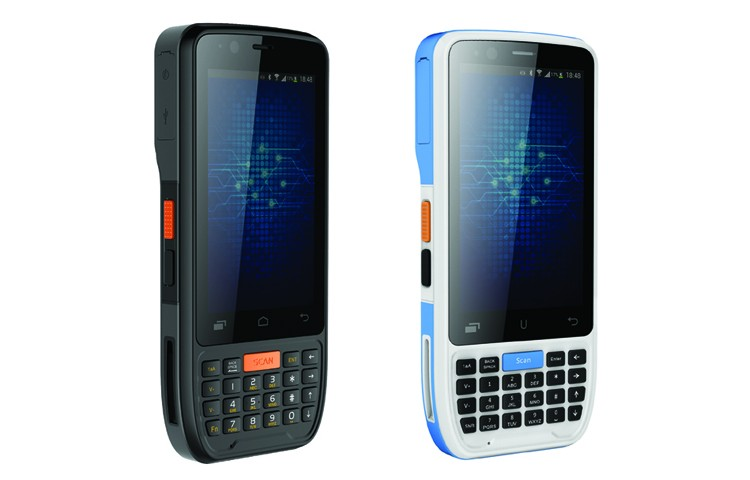 IP65 rugged OEM PDA laser handheld inventory 1d barcode scanner usb with RFID reader
