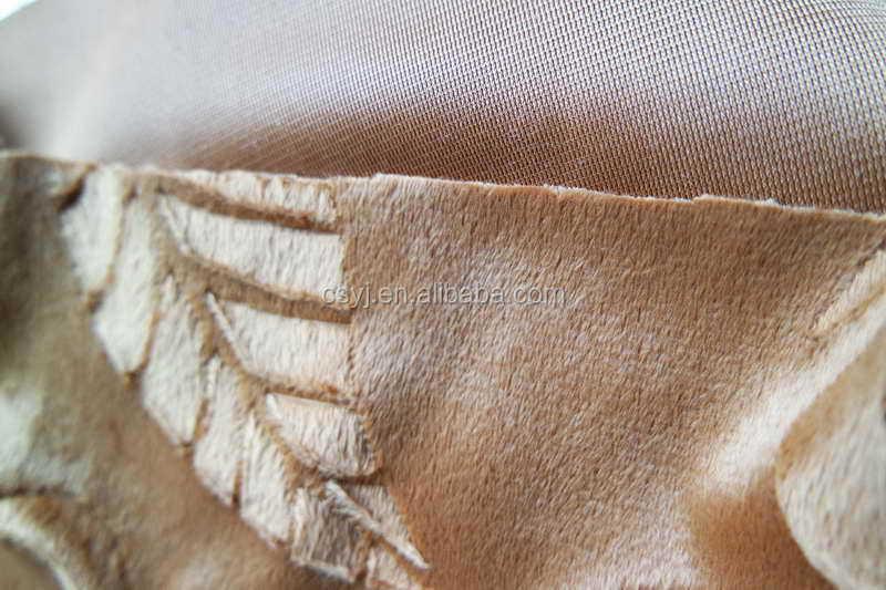 Jiangsu Fabrication Classique Bross Velboa Tissu Pour