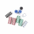 Poker chip Poker chip set Colorful plastic chip jetton