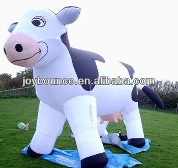 2014 Custom Big Inflatable Milka Cow - Buy Inflatable ...