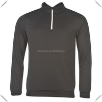 wholesale knitted blank 1/4 zip pullover hoodie custom for men golf with outstanding quality