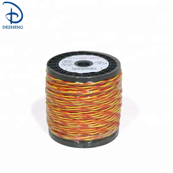 K type rouge/jaune fil de thermocouple