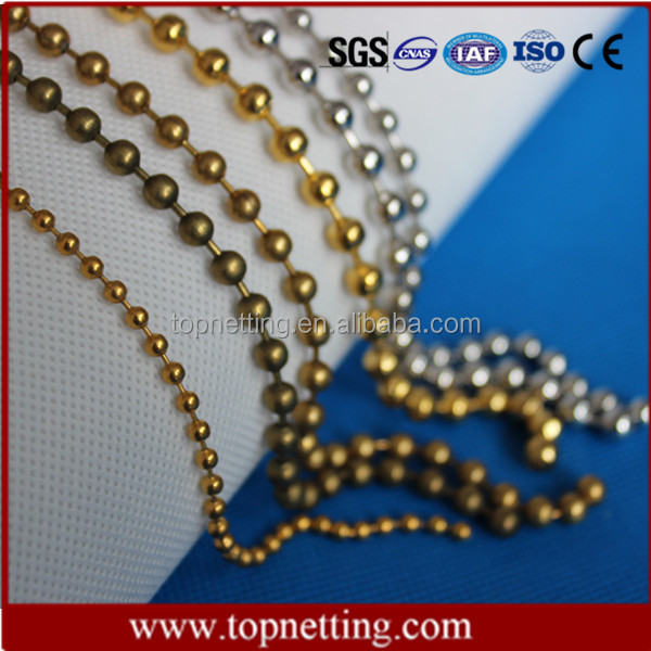 China market wholesale ball chain shower curtain best sales products in alibaba