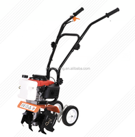 Mini rotary tiller power tiller Small agricuture land machine farm cultivator