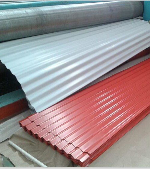 Roof zink aluzinc roofing sheets metal roofing sheet for Different types of roofing materials