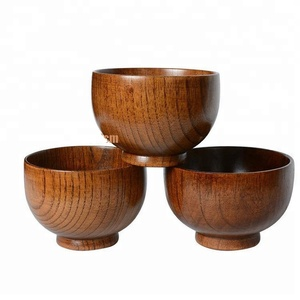2017 Acacia Cheap Teak Olive Wholesale Salad Lacquer Wooden Bowl