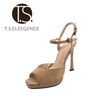 Lady Barbara Carteras De Mujer High Heels Sandals 7cm High Heel Shoes