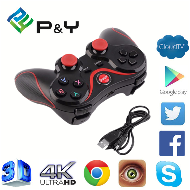 2017 Best price of Gamepad android Smartphone Joystick Controller usb double gamepad OEM