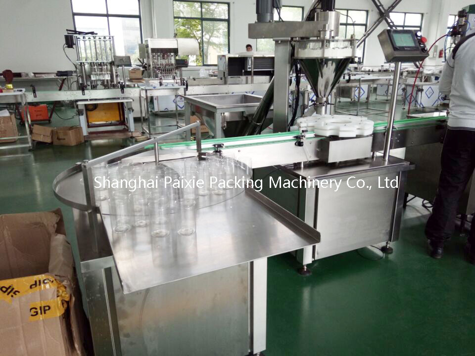 Full automatic can sealer for sale powder filling machine bottle filling line with good After-sales Service