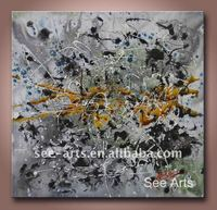 100%Handmade Modern Abstract Oil Painting