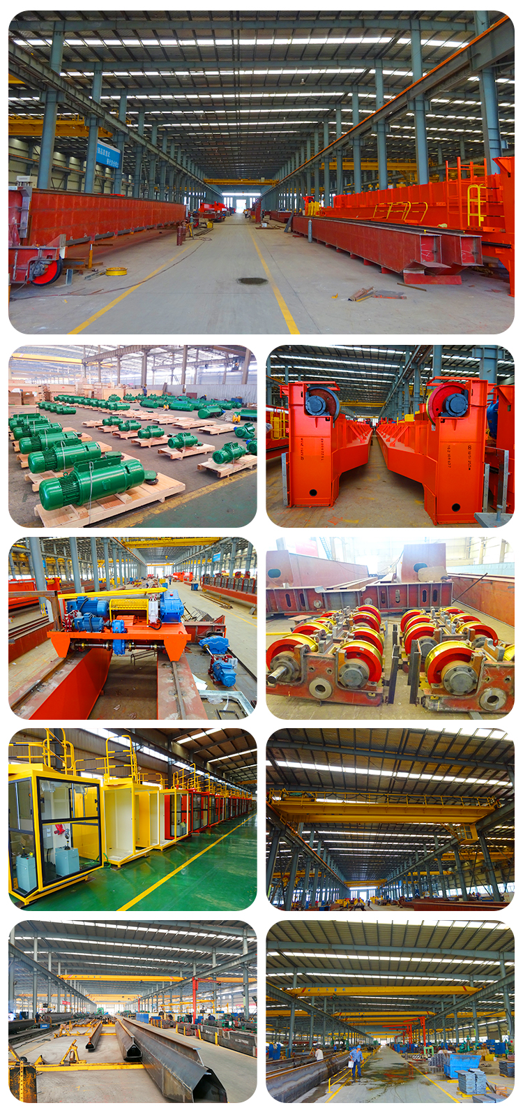 factory show of double girder overhead crane.jpg