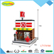 Intelligent building block mini convenience store play scene toys