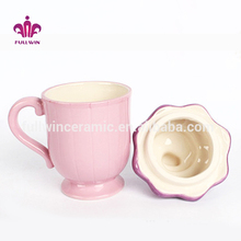 Porcelain ice cream colorful personalized magic mug
