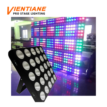 25pcs 10w rgbw led matrix cob dmx light for disco stage