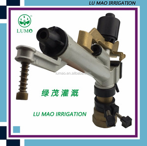 1-1/2 Inch High Pressure Water Irrigation Sprinkler Gun With Female Thread Agriculture Rain Gun Sprinkler