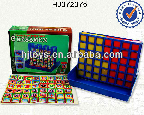 bingo chess,toy game bingo ,4 line-up ,4 in 1 Magnetic chess