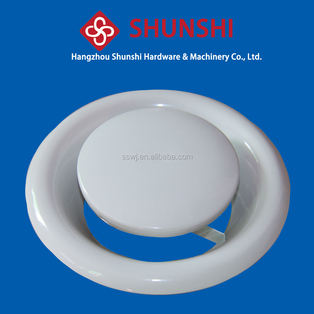 roof designs steel ceiling Round air diffuser for ventilation system